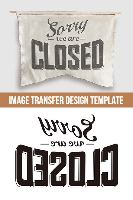 Citra Solv Design Template - Sorry We are CLOSED